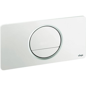 Кнопка смыва Viega Visign fo style 13 для бачка белая пластик (654498) фото