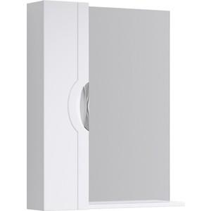 Зеркало-шкаф Aqwella N-Line 75x82 с полкой, белое (N-Li.02.07)
