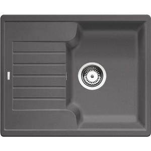 Кухонная мойка Blanco Zia 40 S темная скала (518932) врезная мойка для кухни из нержавейки 40 см
