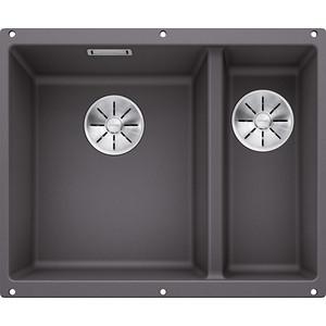 Кухонная мойка Blanco SubLine 340/160-U темная скала (523549)