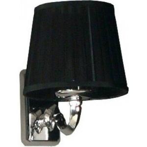 Светильник Акватон 3012/m/cr хром плафон черный (FU0003961) светильник акватон венеция 3009 m oro золото плафон красный 1ax014svxx000