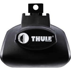 Упоры Thule для автомобилей с обычными рейлингами (757) комплект багажника thule wingbar edge для автомобилей с продольными рейлингами цвет черный 958420