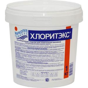 Маркопул Кэмиклс М26 Хлоритэкс 1кг для текущей и ударной дезинфекции воды