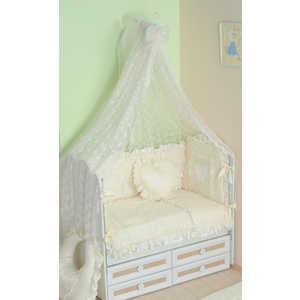 Комплект в кроватку Сдобина Нежность 7 предметов (бежевый) 69 комплект в кроватку сдобина летнее утро 7 предметов бежевый 91