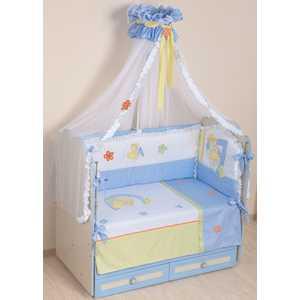 Комплект в кроватку Сдобина Азбука (фиолетовый) 86