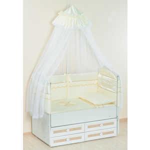 Комплект в кроватку Сдобина Друзья 7 предметов (розовый) 81