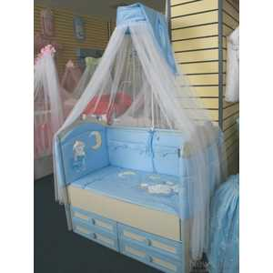 Комплект в кроватку Сдобина Сладких снов 7 предметов (бежевый) 92