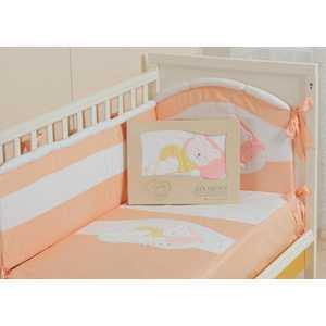 Комплект постельного белья Сдобина Мой маленький друг (персиковый) 50.112
