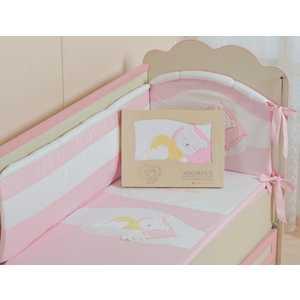 Комплект постельного белья Сдобина Мой маленький друг (розовый) 50.112