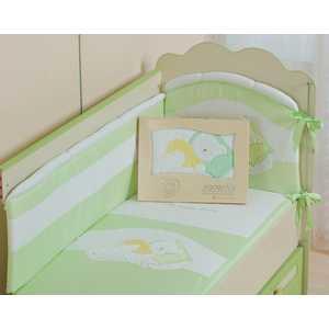 Комплект постельного белья Сдобина Мой маленький друг (салатовый) 50.112