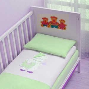 Комплект постельного белья Сдобина 3 предмета махра (салатовый) 22.2 комплект постельного белья 3 предмета pali marilyn prestige магнолия