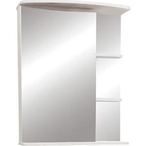 Зеркальный шкаф Меркана Керса 55 белый (7652)
