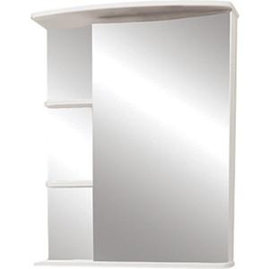 Зеркальный шкаф Меркана Керса 55 белый (7653)