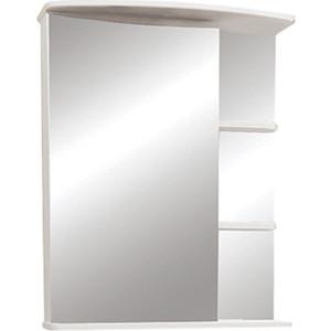 Фото - Зеркальный шкаф Меркана Керса 65 белый (7654) зеркало меркана виттория 82 см 2 шкафа по бокам свет розетка выключатель 27666