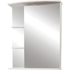 Фото - Зеркальный шкаф Меркана Керса 65 белый (7655) зеркало меркана виттория 82 см 2 шкафа по бокам свет розетка выключатель 27666