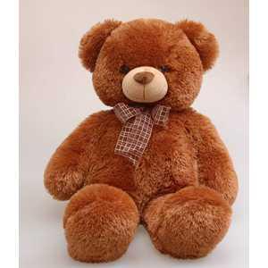 Aurora Медведь коричневый с бантом 69см 30-349