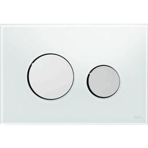 Панель смыва TECE loop стекло белое, клавиши хром матовый (9240659) панель смыва tece teceplanus 9240322 белый матовый