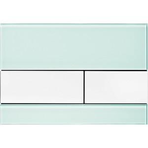Панель смыва TECE square стекло зелёное, клавиши белые (9240803) клавиши 30 x 45см page 3