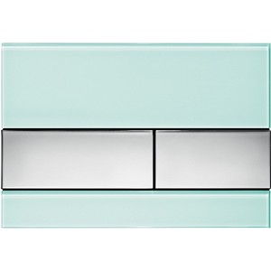 Панель смыва TECE square стекло зелёное, клавиши хром глянцевый (9240805) клавиши 30 x 45см page 3