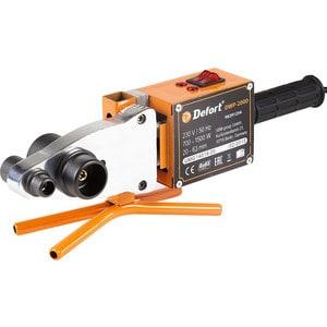 Купить Аппарат Для Сварки Пластиковых Труб Defort Dwp-2000