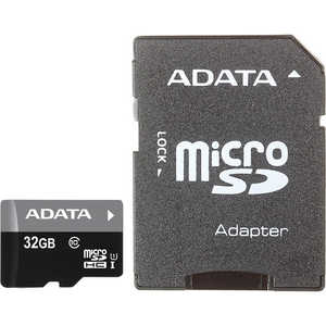Карта памяти A-Data microSDHC 32Gb Class 10 UHS-I (SD adapter) (AUSDH32GUICL10-RA1) все цены