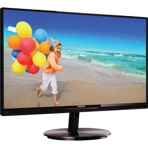 все цены на Монитор Philips 234E5QSB Black-Cherry онлайн