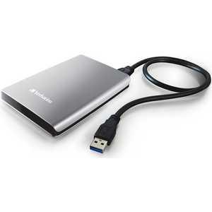 Внешний жесткий диск Verbatim 1TB Store 'n' Go, 2.5, USB 3.0, серебристый (53071) внешний жесткий диск store n go style 1тб 53194 черный