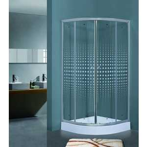 Душевой уголок Timo Biona Lux 90х90 прозрачный с рисунком Romb (TL-9001 R) душевой уголок timo biona lux tl 1101 fabric glass 100х100х200 см