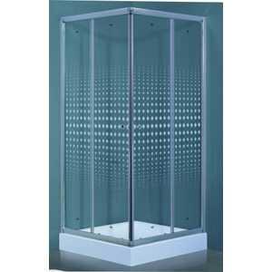 Душевой уголок Timo Viva Lux 90х90 прозрачный с рисунком Romb (TL-9002 R) душевой уголок timo biona lux tl 1101 fabric glass 100х100х200 см