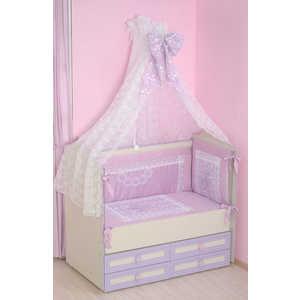 Комплект в кроватку Сдобина Императорский (фиолетовый) 77