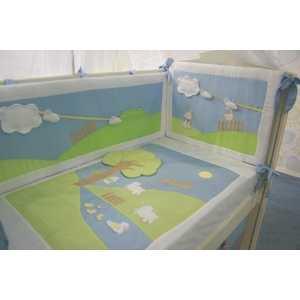 Комплект в кроватку Сдобина Летнее утро 7 предметов (салатовый) 91 комплект в кроватку сдобина летнее утро 7 предметов салатовый 91