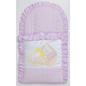Конверт для новорожденного Сдобина Мой маленький друг (фиолетовый) 50.115
