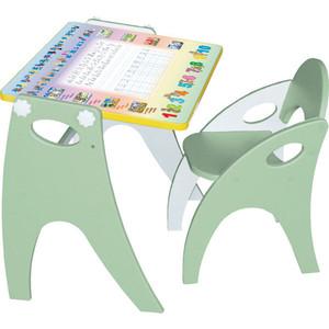Набор мебели Интехпроект Буквы-Цифры (салатовый) 14-314