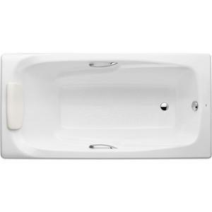 Чугунная ванна Roca Ming 170x85 с ручками и ножками цена