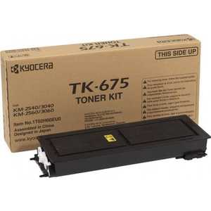 Kyocera TK-675 20 000 стр. для KM-2540/2560/3040/3060 wholesale high quality original color copier opc drum compatible for kyocera km1635 2035 2550 2540 2560 3040 3060