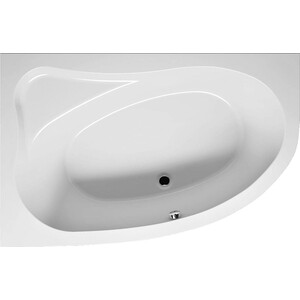 Акриловая ванна Riho Lyra 153x100 R правая, без гидромассажа (BA6700500000000) акриловая ванна riho lyra левая 140x90x49