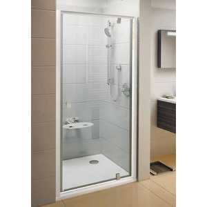 Душевая дверь Ravak Pivot PDOP1 90 прозрачная Транспарент, белый (03G70100Z1) цена