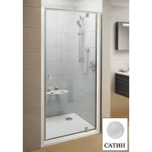 Душевая дверь Ravak Pivot PDOP1 90 прозрачная Транспарент, сатин (03G70U00Z1) душевая дверь ravak pivot pdop1 90 белый transparent 03g70100z1