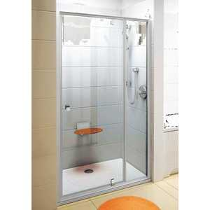 Душевая дверь Ravak Pivot PDOP2 100 прозрачная Транспарент, сатин (03GA0U00Z1)