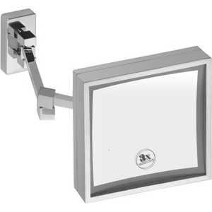 Зеркало косметическое Bemeta с подсветкой 200х200мм (112101202) табличка внимание частная собственность односторонняя 200х200мм пвх 1мм