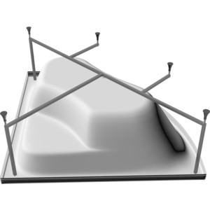 Каркас для ванны Riho Delta 160x80 правая (2YNDL1179)