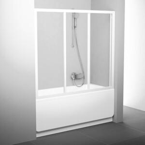 Шторка на ванну Ravak Supernova AVDP3-170 прозрачная, белый (40VV0102Z1) hideep ванные принадлежности ванные бронза дренаж с перекрытий