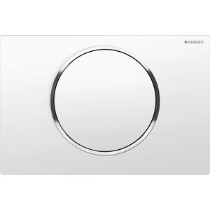 Кнопка смыва Geberit Sigma 10 белый/хром (115.758.KJ.5)