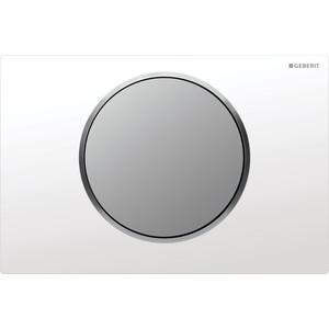 Кнопка смыва Geberit Sigma 10 белый/матовый хром (115.758.KL.5)