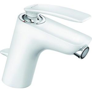 Смеситель для биде Kludi Balance с донным клапаном, белый (522169175) смеситель для биде kludi kludi balance 522169175