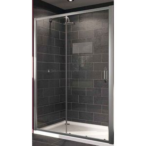 Душевая дверь Huppe X1 120 прозрачная, хром (140402.069.321)