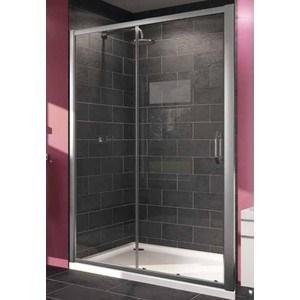 Душевая дверь Huppe X1 140 прозрачная, хром (140404.069.321)
