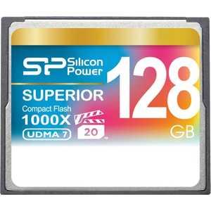 Фото - Карта памяти Silicon Power SP128GBCFC1K0V10 карта памяти compact flash kingston canvas focus 128 гб