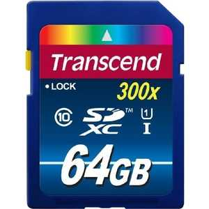 Фото - Карта памяти Transcend TS64GSDU1 карта памяти 16gb transcend high capacity ultimate class 10 secure digital ts16gsdhc10
