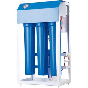 Фильтр обратного осмоса Гейзер Престиж 3 ПЛюкс с автоматической промывкой (3х3012) (20271) фильтр обратного осмоса гейзер престиж 3 плюкс 3х3012 20259